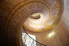 Escaliers dans le cloître Melk Photos libres de droits