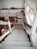 Escaliers dans le restaurant Photographie stock libre de droits