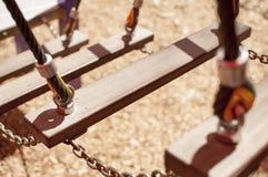 Escaliers dans le terrain de jeu Photo libre de droits