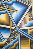 Escaliers dans un sordide à Dubaï Images stock