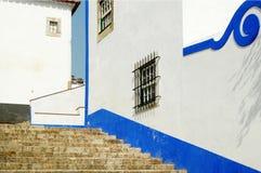 Escaliers de bidos de à « Images libres de droits