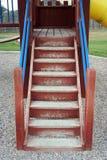 Escaliers de cour de jeu photographie stock