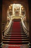 Escaliers de Dolmabahce Images libres de droits
