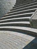 Escaliers de Granit Photos libres de droits