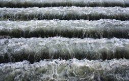 Escaliers de l'eau. images libres de droits