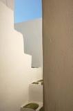 Escaliers de la Grèce Photo libre de droits
