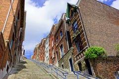 Escaliers de Liège Photo libre de droits