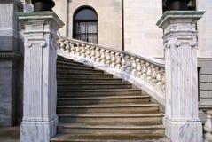 Escaliers de maison d'état images libres de droits