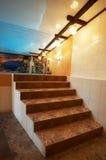 Escaliers de marbre image libre de droits