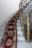 Escaliers de marbre Photo libre de droits