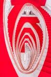 Escaliers de marbre en spirale Photographie stock libre de droits