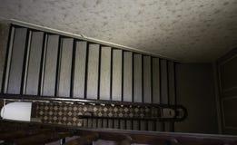 Escaliers de marbre intérieurs image stock