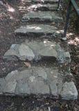 Escaliers de monastère de Bodbe image stock