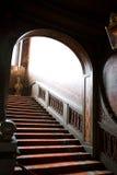 Escaliers de mystère Photos stock