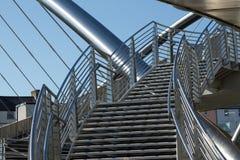 Escaliers de passerelle. Image libre de droits