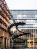 Escaliers de réécriture à Munich, Allemagne photo libre de droits