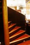 Escaliers de roulement Images libres de droits