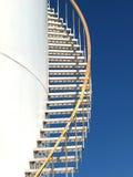 Escaliers de réservoir de stockage Photographie stock libre de droits