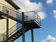 Escaliers de secours photo libre de droits