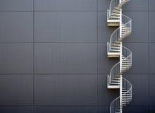 escaliers de secours photographie stock