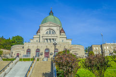 Escaliers de St Joseph Oratory Photo stock