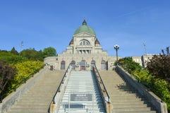 Escaliers de St Joseph Oratory Images libres de droits