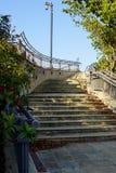 Escaliers de trottoir dans West Palm Beach, la Floride Images libres de droits