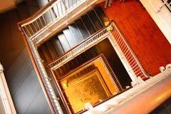 Escaliers de vertige Photos stock