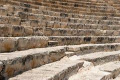 Escaliers des ruines antiques Photos libres de droits