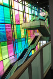 Escaliers du congrès à Montréal photographie stock