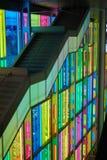 Escaliers du congrès à Montréal images libres de droits