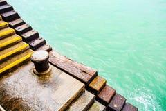 Escaliers du pilier Image stock