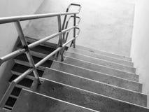 Escaliers du stationnement Photographie stock