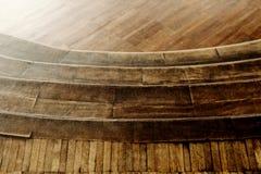 Escaliers en bois Photographie stock