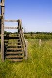 Escaliers en bois Photographie stock libre de droits