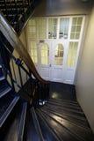 Escaliers en bois Images libres de droits