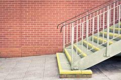 Escaliers en métal image stock