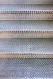Escaliers en métal de Checkerplate ; modèle de fond photo libre de droits