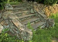 Escaliers en pierre Photos stock