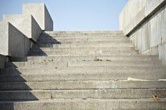 Escaliers en pierre Images stock