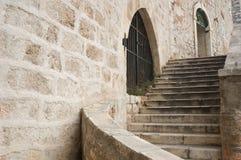 Escaliers en pierre Images libres de droits