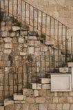 Escaliers en pierre extérieurs Photos stock