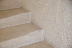 Escaliers en pierre usés Photo stock