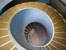 Escaliers en spirale Photos libres de droits