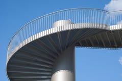 Escaliers en tant qu'élément architectural Images stock