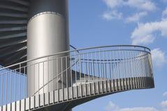 Escaliers en tant qu'élément architectural Image libre de droits