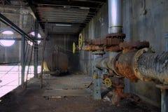 Escaliers et réservoir de carburant images stock