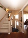 Escaliers et trappe Photographie stock