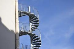 Escaliers extérieurs Photo stock