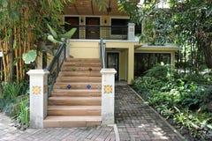 Escaliers extérieurs Images libres de droits